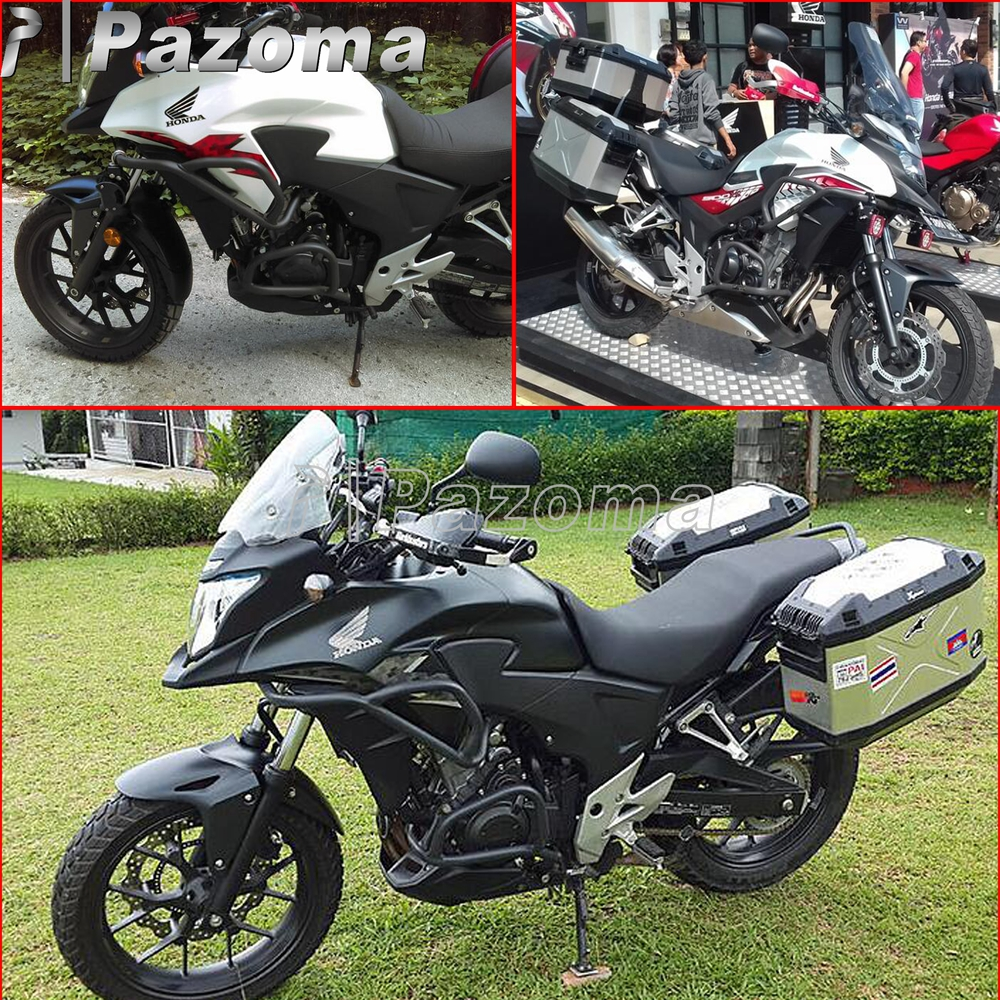 Black Motorcycle Crash Bars Frame Engine Guard Protection Bumper For Honda Frames Cb500x Cb500f 2013 2017 In Covers Ornamental Mouldings From Automobiles