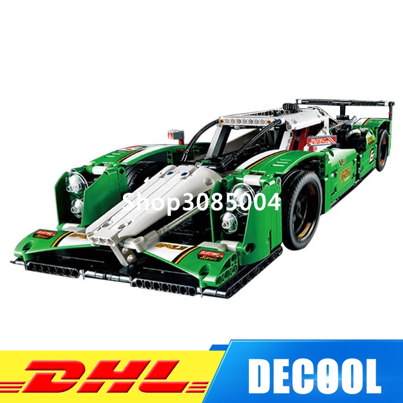 Decool 3364 24 Hours Race Car building Toys for children Toy Set Boy Car Racers Car Gift Lepin 20003 Bela 42039