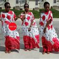 Vestidos africanos Tempo-limitado Poliéster 2017 Novo Estilo de Moda Elegent Mulheres Roupas Africano