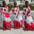 Vestidos africanos por Tiempo limitado Ropa de Poliéster 2017 Nuevo Estilo de Moda Elegent Mujeres Africanas