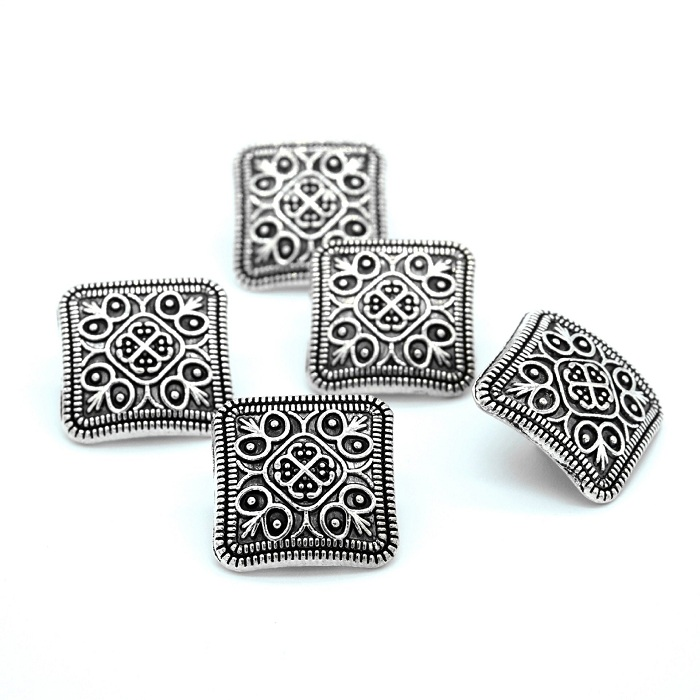 US $0.5 5% OFF|Buttons shank 13mm antique silvery flower for sweater coat shirt jacket handmade Gift Box  Craft DIY Sewing accessories Wh-in Buttons from Home & Garden on Aliexpress.com | Alibaba Group
