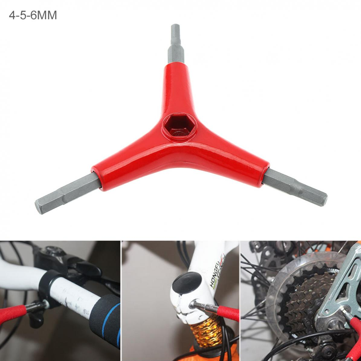 3 Y Type Outdoor Hex Wrench Bike Bicycle Cycling Repair Tool Size 4 //5 //6mm Tool