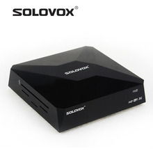Factory Outlet 2PC SOLOVOX F6S Satellite Receiver Box Support 2USB WEB TV Card Sharing CCCAM/NEWCAM Youporn