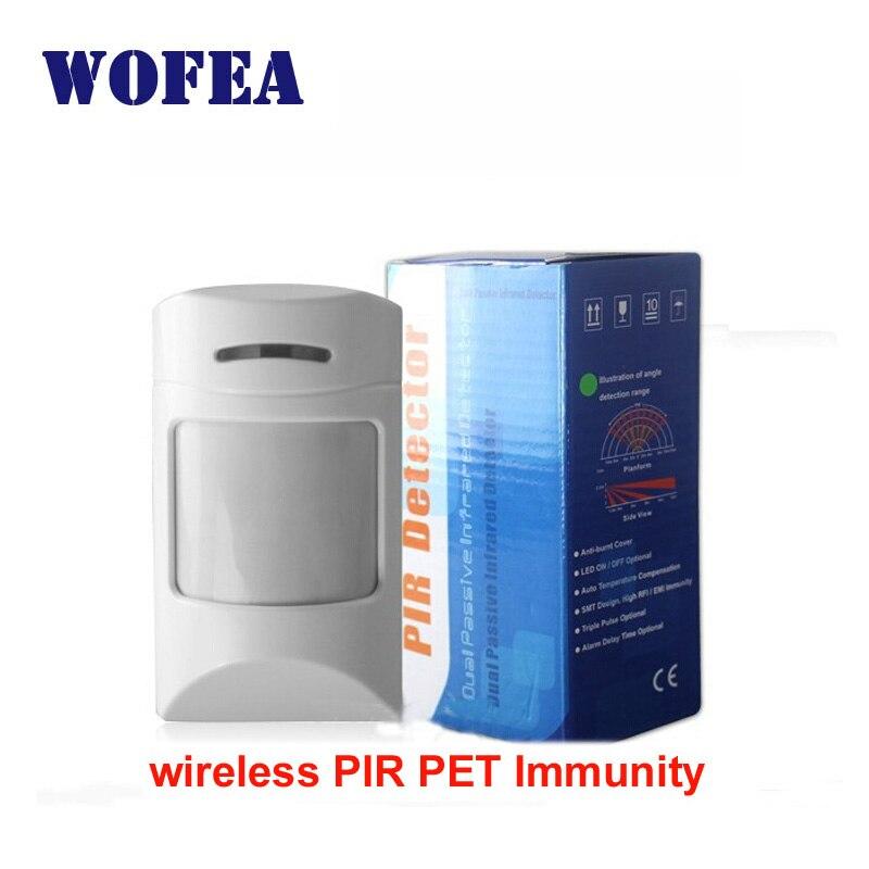 imágenes para Envío gratis detector inalámbrico PIR pet sensor de movimiento por infrarrojos 433 mhz 2262 IC
