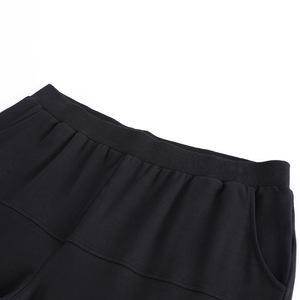 Image 4 - النساء السراويل 2018 الخريف حجم كبير 10XL 8XL 6XL 4XL منتصف العمر المرأة الملابس عالية الخصر سليم قلم رصاص أسود بنطلونات فام