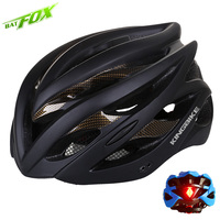 BATFOX Cycling Helmet Men Women Ultralight Bicycle Helmet PVC EPS Road Mountain Protone MTB Bike Helmet