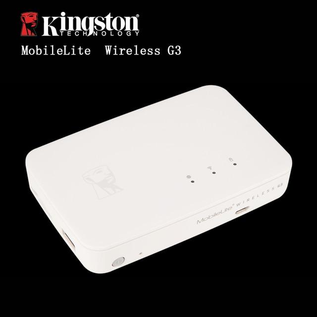 Kingston multifuncional wi-fi transmissor sem fio dispositivo de compartilhamento de dados que pode ser usado como uma fonte de energia de backup móvel