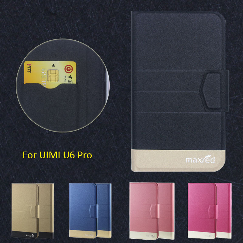 2016 Super! UIMI U6 Pro Phone Case, 5 Colors Factory Direct High quality Original Luxury Ultra-thin Leather Protective Cover