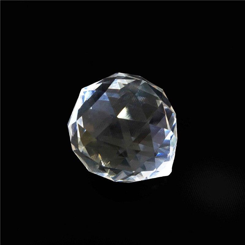 1 Stk / partij 100mm Glas Kroonluchter Ballen Crystal Facet Prisma - Feestversiering en feestartikelen - Foto 3