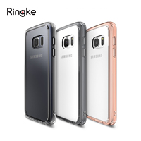 100 Original Ringke Fusion Case For Galaxy S7 Crystal Clear PC Back TPU Frame Drop Protection