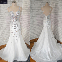 BRITNRY Vestido De Noiva Backless Mermaid Wedding Dresses
