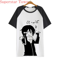 2016 Summer Style Sudadera Anime Tops Tee Roupas Casaul T Shirt Women Japan Cool Clothes Patchwork