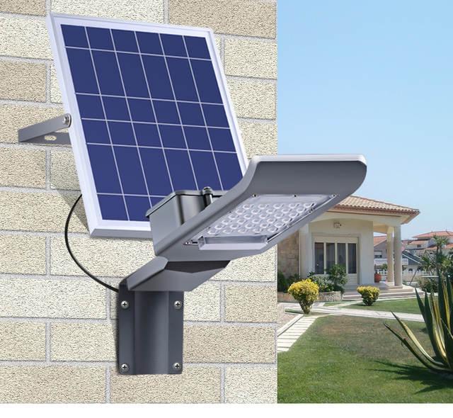 Remote Control Solar Flood Light