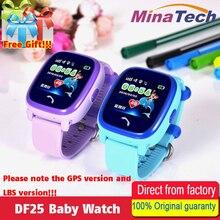 DF25 Водонепроницаемый Детские умные часы gps смарт-детские часы SOS вызова расположение устройства трекер дети Безопасный Anti-Потерянный монитор PK Q100 Q90