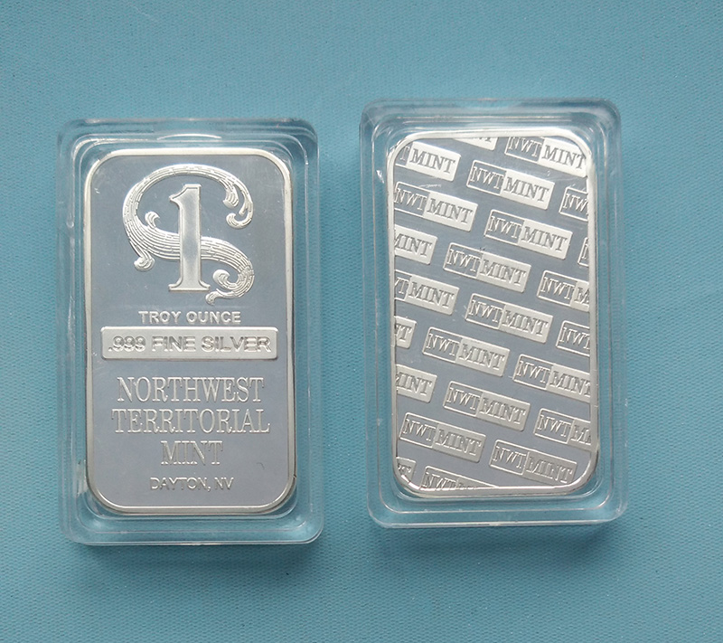 Northwest Territorial Mint Silver Bar 1 Ounce April 2019