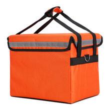 цена на 62L/80L large takeaway backpack/box/bag fast food pizza delivery incubator ice bag waterproof refrigerated insulation suitcase