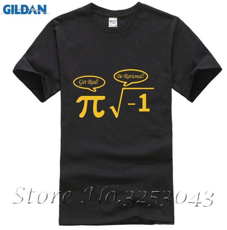 men creative math funny t-shirt full cotton mens humor tees & tops o-neck Pi Tee