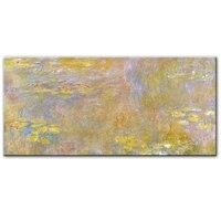 Клода монет воды лилии стены книги по искусству картины маслом репродукции импрессионист известные цветы холст для