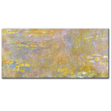Claude Monet Water Lilies Wall Art oil Paintings Reproductions Impressionist Famous Flowers Canvas For Bed Room Cuadros