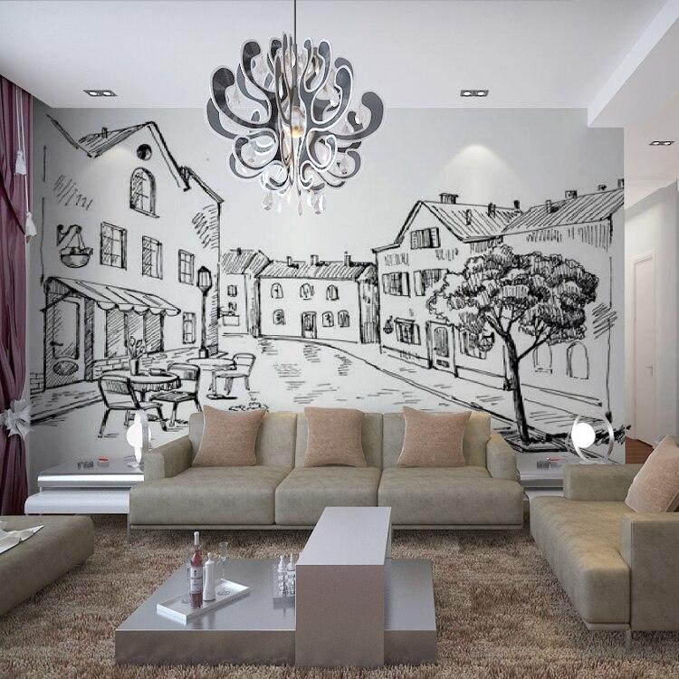 Online get cheap wallpaper wall street for Cheap wallpaper for walls