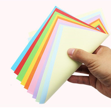 A4 Color Manual Cardboard Multicolor Paper Origami Paper Craft Folding Square Papers Handmade DIY Scrapbooking Cards Gift 100pcs a4 80g color copy paper multicolor available children handwork origami colored paper