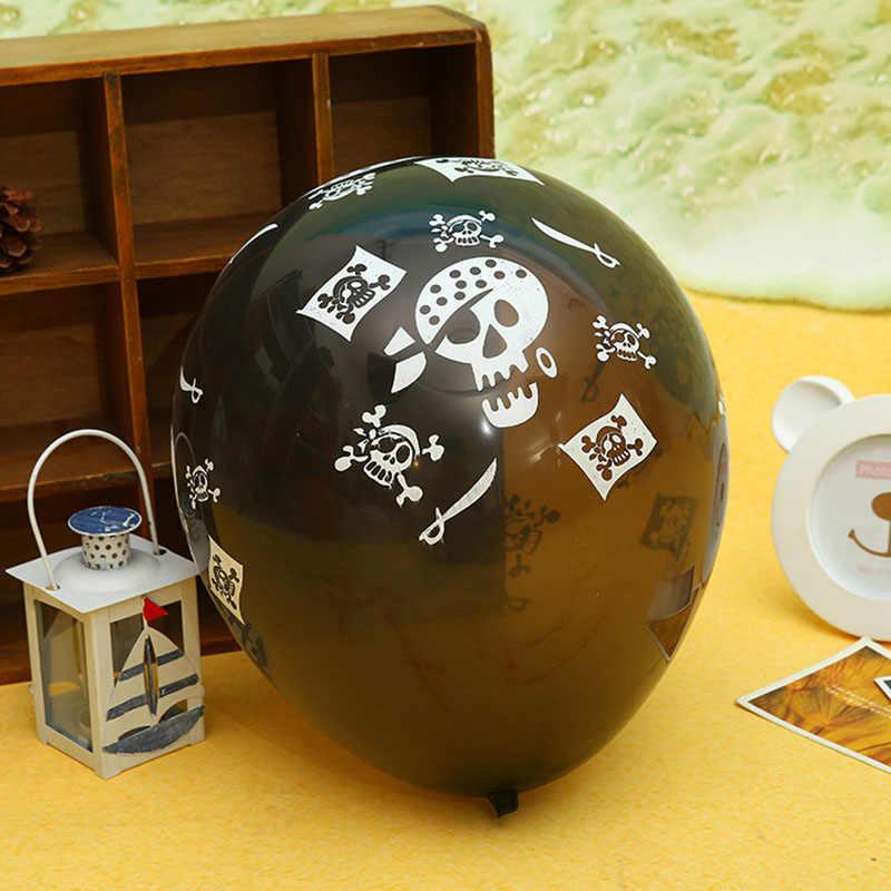 10 шт. 2.8 г новый черный латекс Хэллоуин гримасу Air гелий надувной шар из латекса игрушка воздушных шаров оформлены детский день рождения часть
