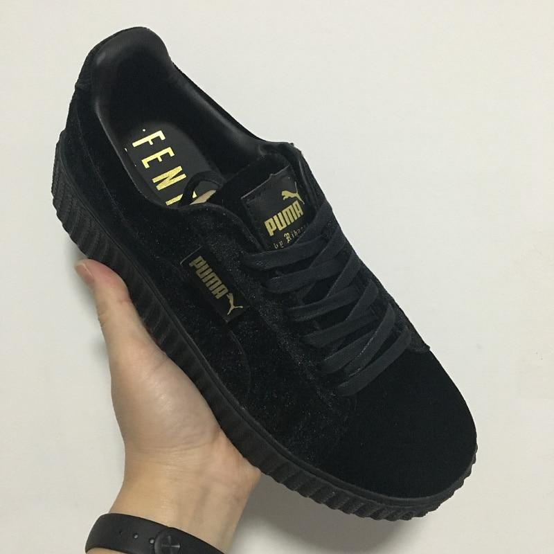 Puma shoes puma Velvet thick soled