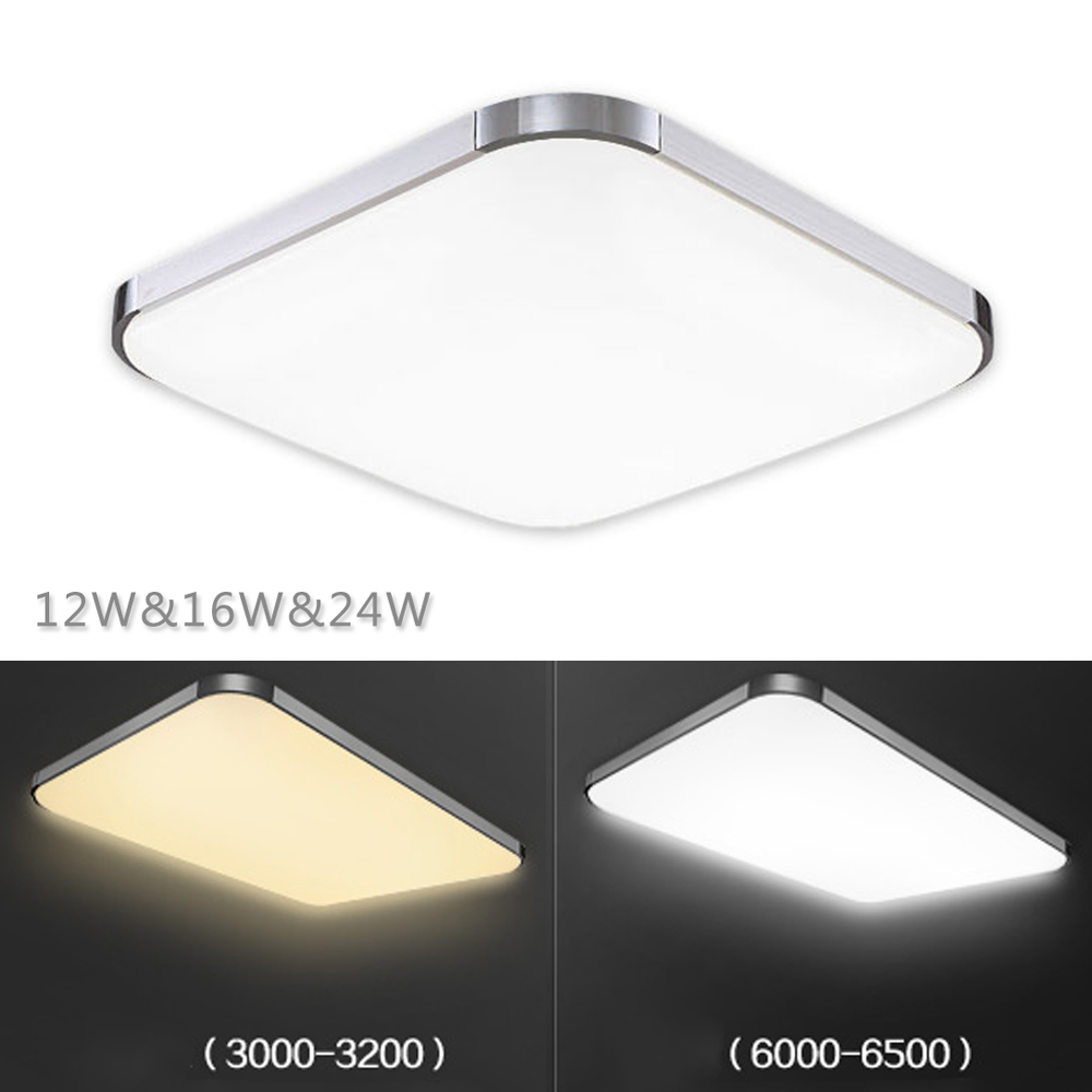 New 12W/16W/24W Crystal Led Ceiling Light for Living Room Lamp Ceiling Lamp Led Lights for Home AC220v