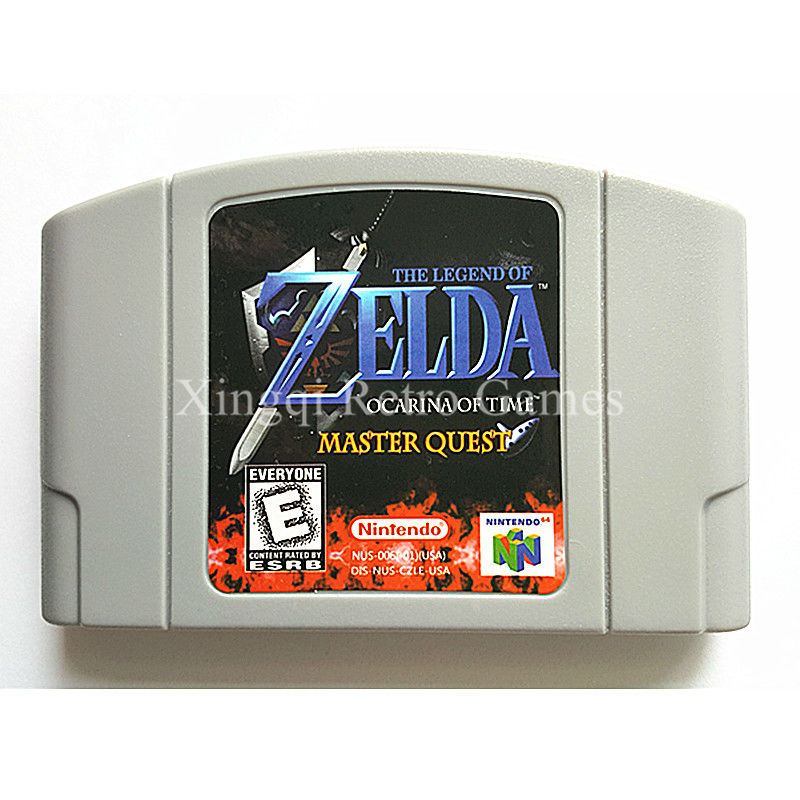 Nintendo N64 Game Legend of Zelda Quest Video Game Cartridge Console Card English Language US Version