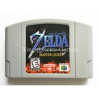 Nintendo N64 Game Legend Of Zelda Quest Video Game Cartridge Console Card English Language US Version
