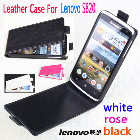 Leather case For <font><b>Lenovo</b></font> S820 S8 <font><b>S750</b></font> Flip cover housing case For <font><b>Lenovo</b></font> S 820 / S 8 / S 750 Phone cases covers Mobile Phone Bags image