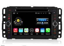 Free Shipping 7″ 2 Din 1024*600 Quad Core Android 5.1.1 PC Car DVD GPS For Chevrolet GMC Yukon Savana Sierra Tahoe Acadia Denali