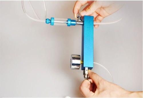 WYIN DIY acuario plantado tanque CO2 sistema generador de pro kit + burbuja + Válvula de seguridad - 6