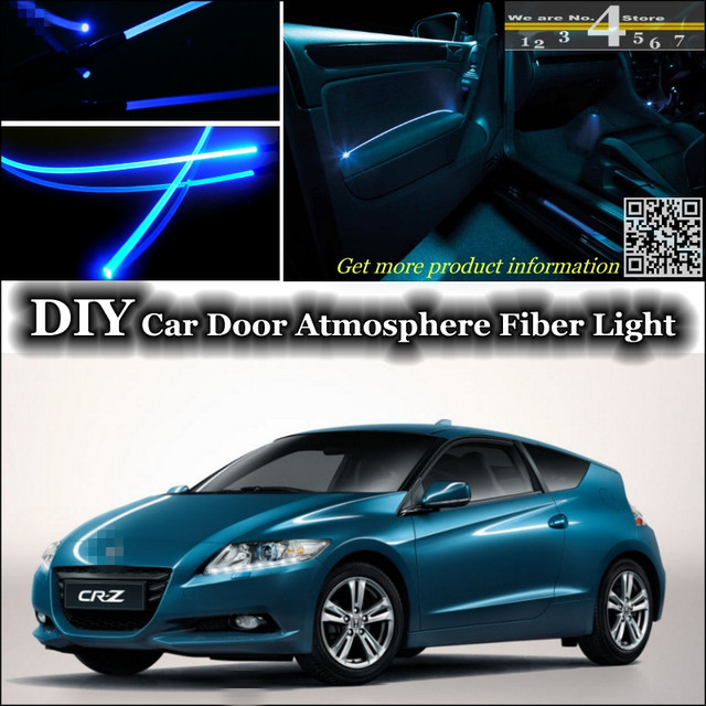 Interior Ambient Light Tuning Atmosphere Fiber Optic Band Lights For HONDA  CRZ CR Z CR