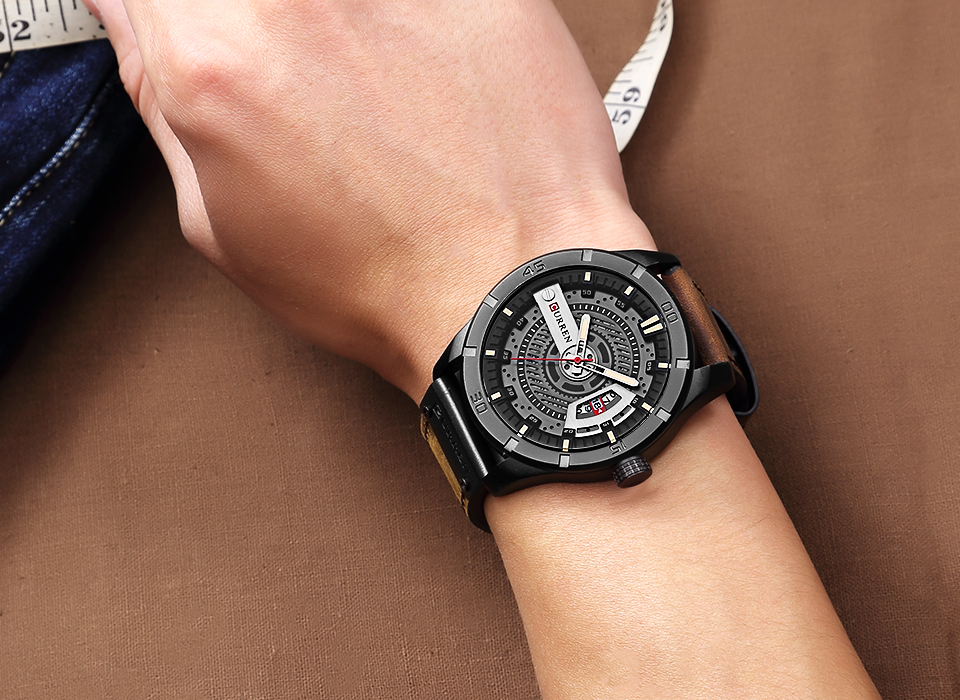 Luxury Brand CURREN Men Military Sports Watch
