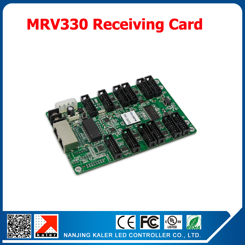 Sychronous control system 1 receive card MRV330 video card full color led display controllerSychronous control system 1 receive card MRV330 video card full color led display controller