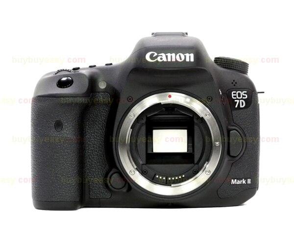 Nueva cámara Canon EOS 7D Mark II MK 2 DSLR cuerpo negro Multi idiomas-in Cámaras DSLR from Productos electrónicos    1