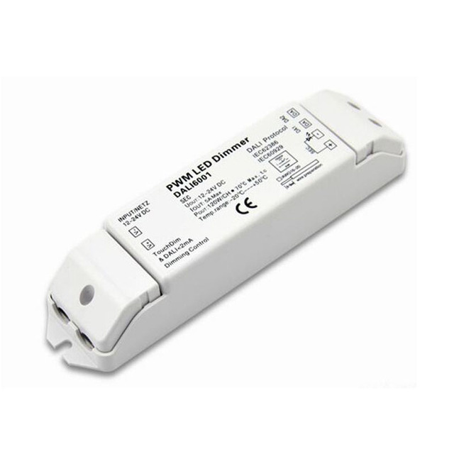 Constant Voltage DALI Decoder Serie 12 24VDC ingang 5A 1 channel ...
