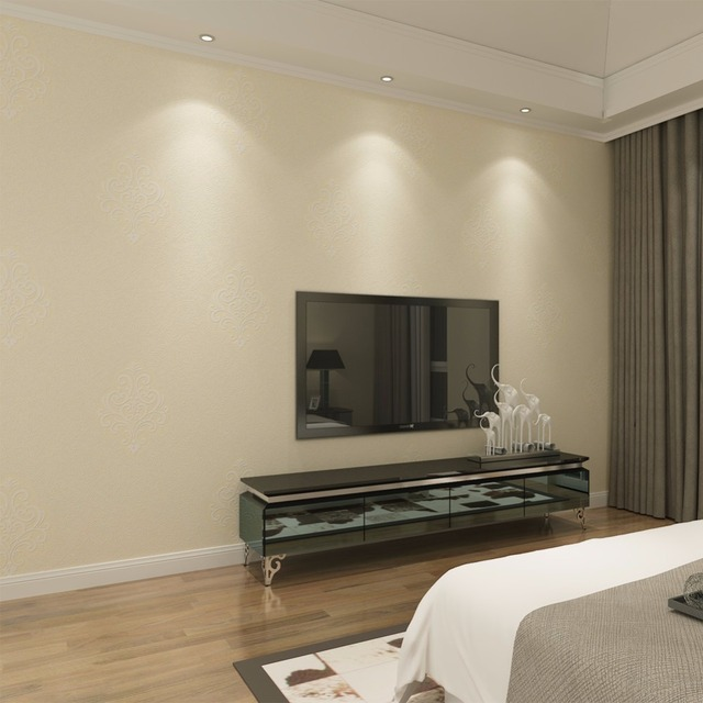 aliexpress : buy non woven wallpaper elegant bedroom wallpaper