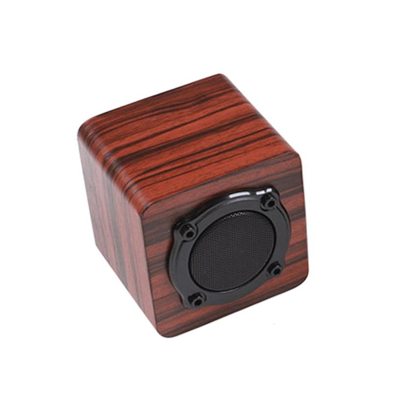 Wooden Speaker Portable Bluetooth Wireless Speakers Stereo Bass Outdoor Sound Box For Iphone Xiaomi Samsung Android IOS S101