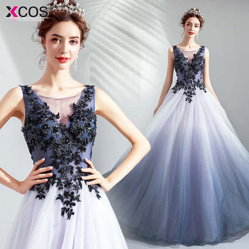 48a5ee02cf Hot Sale] Sexy Open back Ombre Prom Dresses Long 2019 Elegant Cap ...