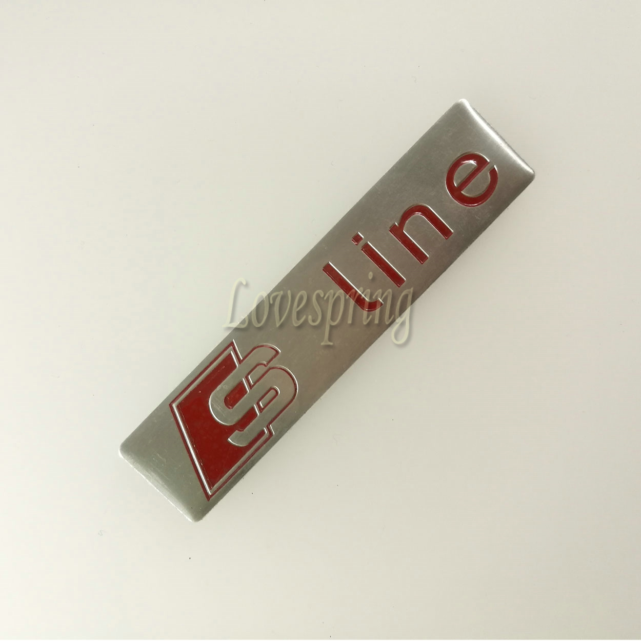 3d Metal Sline Car S Line Sticker Cover For Audi Sline Logo A3 A4 A5