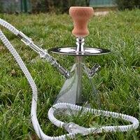 Acrylic Narguile Shisha Set Hookah Cachimba Chicha Narguile with Shisha Bowl Water Pipe Smoking