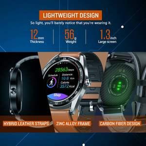 """Image 3 - Zeblaze NEO 1.3 """"كامل مستدير شاشة تعمل باللمس Smartwatch ضغط الدم مراقب معدل ضربات القلب الإناث الفسيولوجية تحقق العد التنازلي ساعة"""