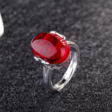 Oval Big Stone Rings