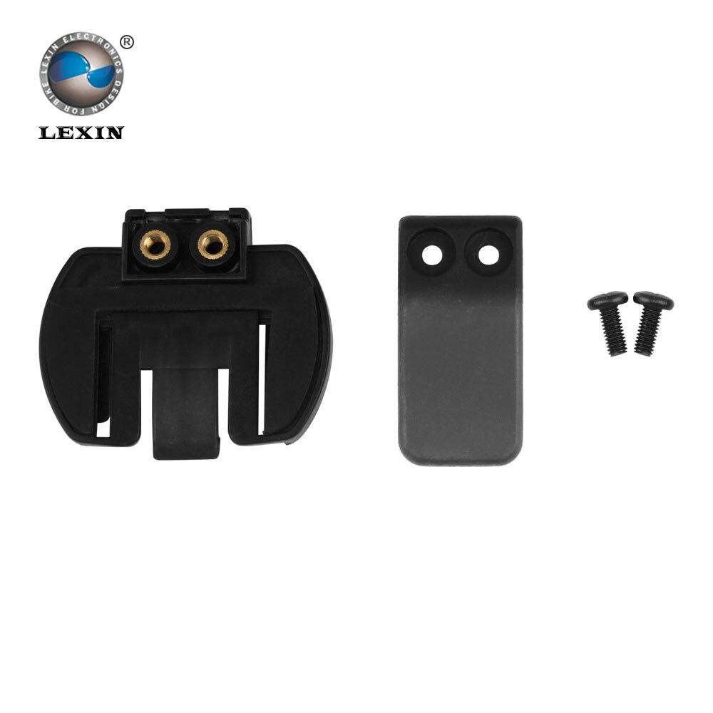 Freies verschiffen 1 stücke Kunststoff Clip clamp Set Zubehör für klemm LX-R6 1200 Mt motorrad Bluetooth Helm Sprechanlage Intercom