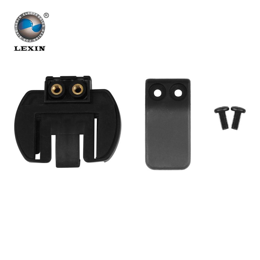 Livraison gratuite 1 pcs En Plastique Clip clamp Set Accessoires pour pince LX-R6 1200 M moto Bluetooth Casque Interphone Interphone