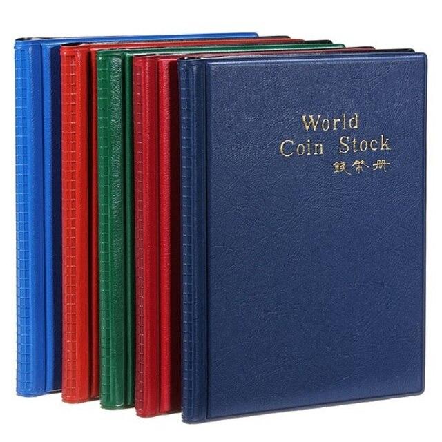 Hot Phong Cách Thời Trang 120 Mở Đồng Tiền Đựng Album Sách Thu Tiền Lưu Trữ Đồ Túi Dễ Thương Màu Sắc Ngẫu Nhiên