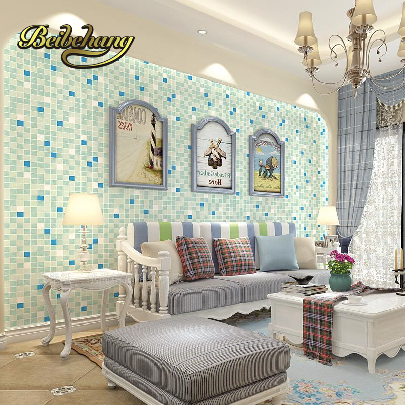 mosaics hotel bedroom living room tv background ktv clothing store