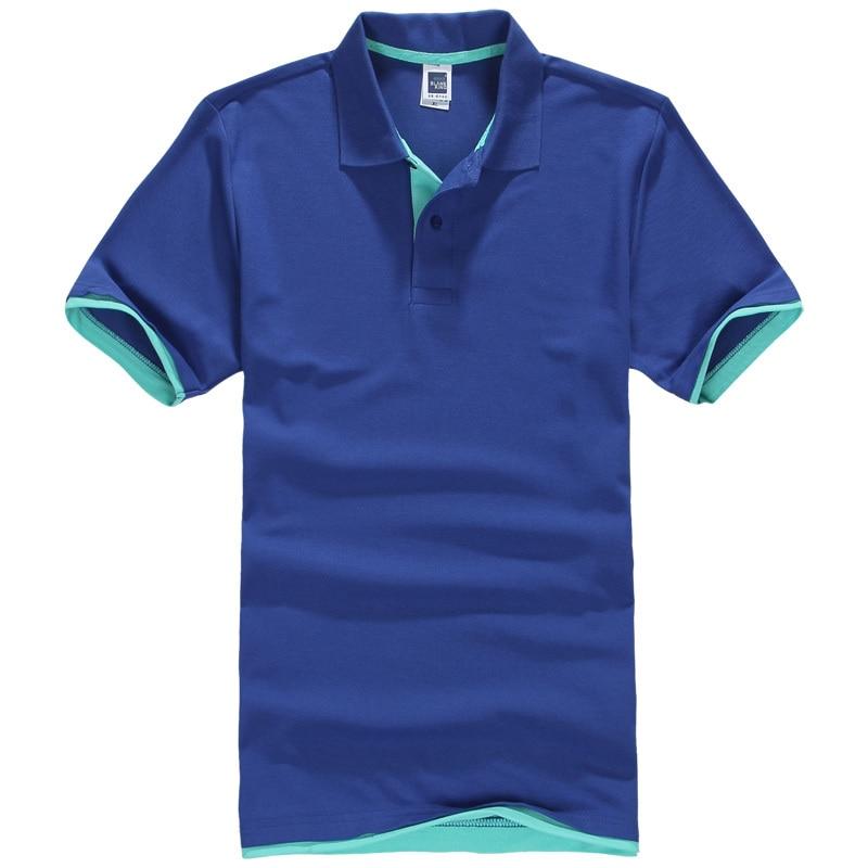 Polo Shirts Plus Size XS-3XL Casual Stand Collar Men's Polo Shirt Men Short Sleeve Cotton Shirt Jerseys Cotton TEES Freeshipping